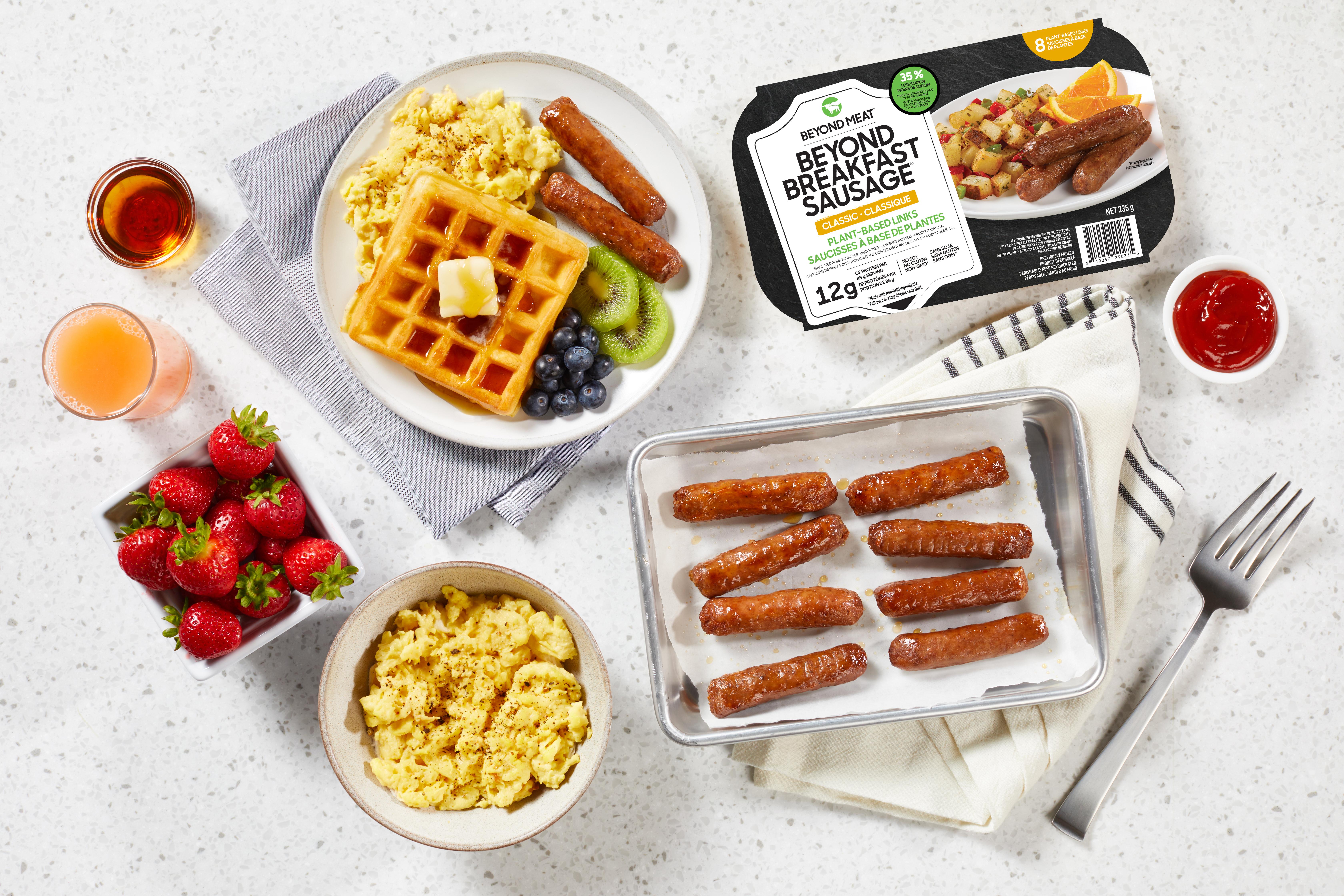 Beyond Breakfast Sausage Links