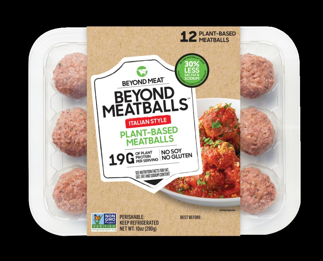 Beyond Meat Meatballs Italian Style