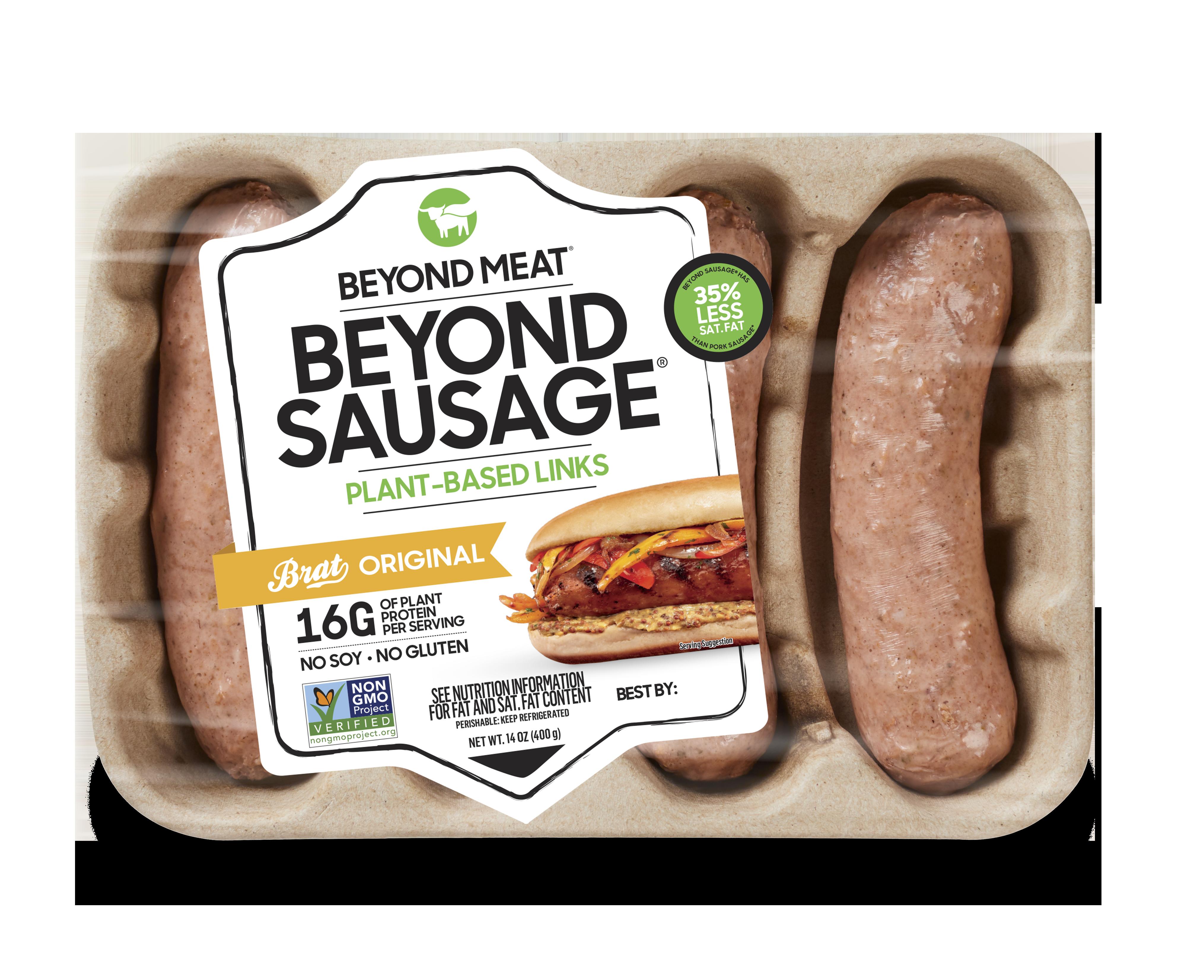Beyond Sausage packaging
