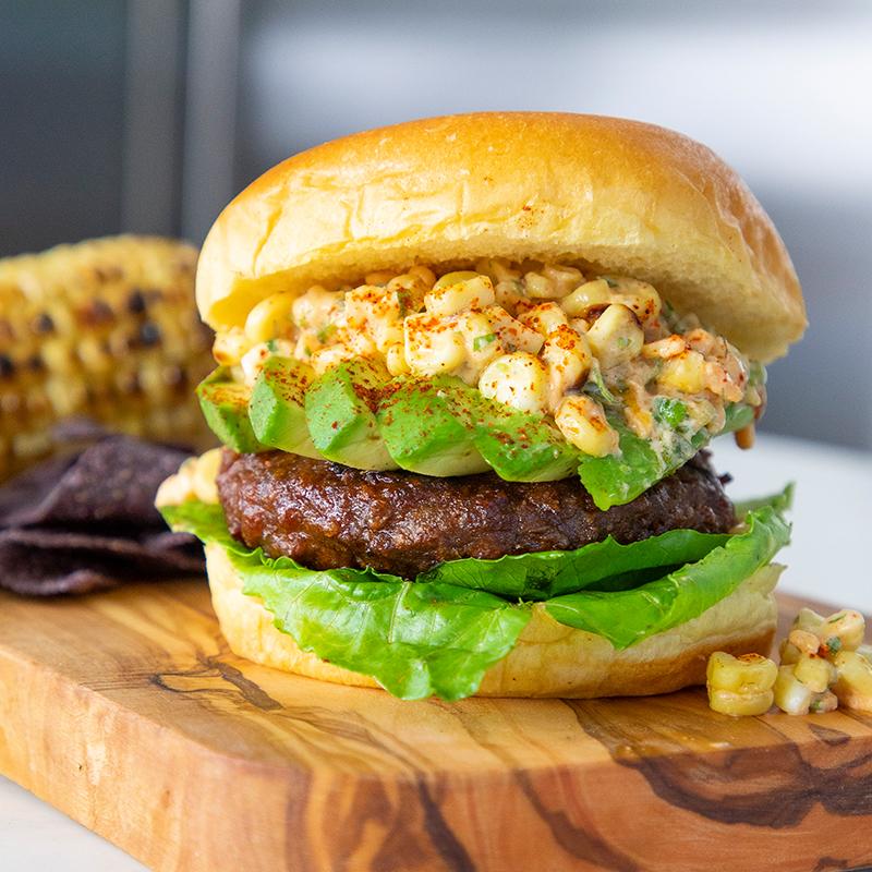 Beyond Elote Burger